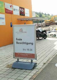 Kundenstopper an der Oristalstrasse - Businesscenter Liestal