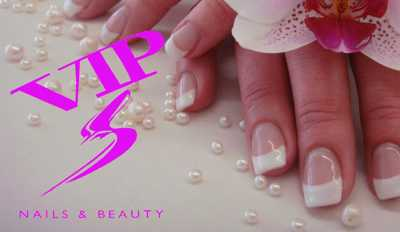 LOGO V.I.P NAILS & BEAUTY - Naildesign Maniküre Pediküre mit Lack/Gel Haarentfernung im Businesscenter Lausen