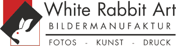 LOGO-White Rabbit Art com im Businesscenter Liestal