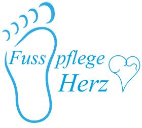 Logo Fusspflege - Praxis - Herz - Carpnline Munschaue im Businesscenter Liestal